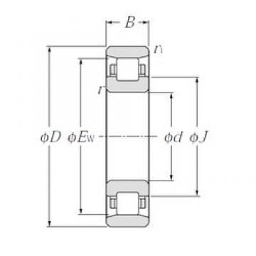 70 mm x 150 mm x 35 mm  NTN N314 cylindrical roller bearings
