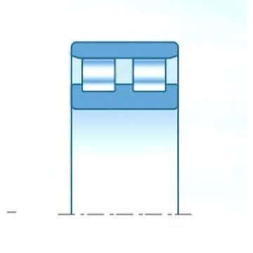 200 mm x 310 mm x 109 mm  NTN NN4040C1NAP4 cylindrical roller bearings