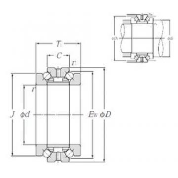 NTN 562008M thrust ball bearings