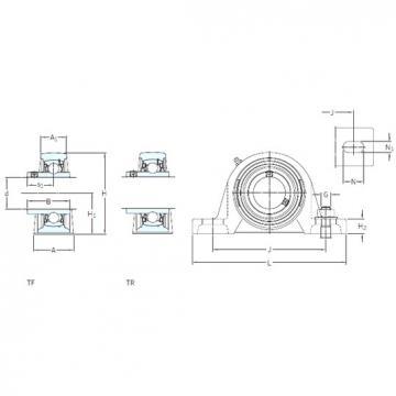 SKF SY 55 TR bearing units