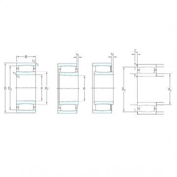 130 mm x 230 mm x 64 mm  SKF C2226K cylindrical roller bearings