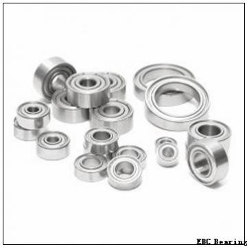 EBC 1654 2RS  Single Row Ball Bearings